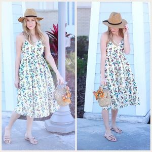 NWT Old Navy Floral Midi Dress Small